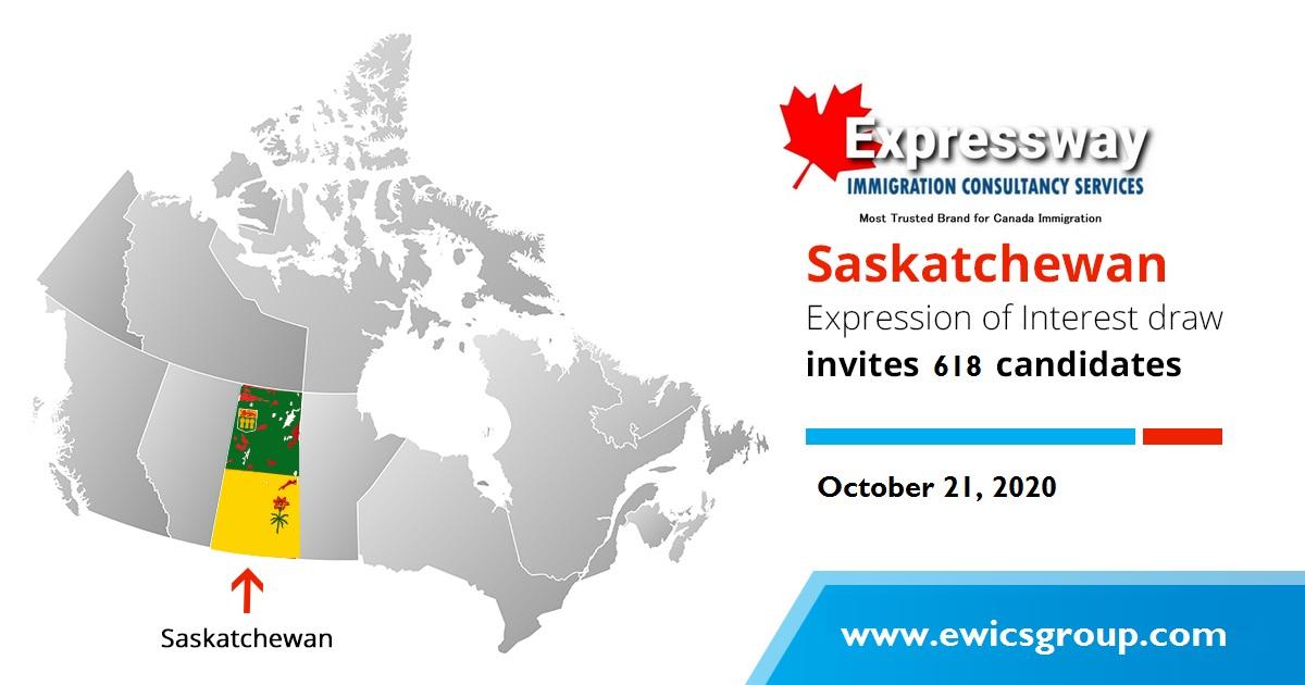 Saskatchewan EOI Draw results