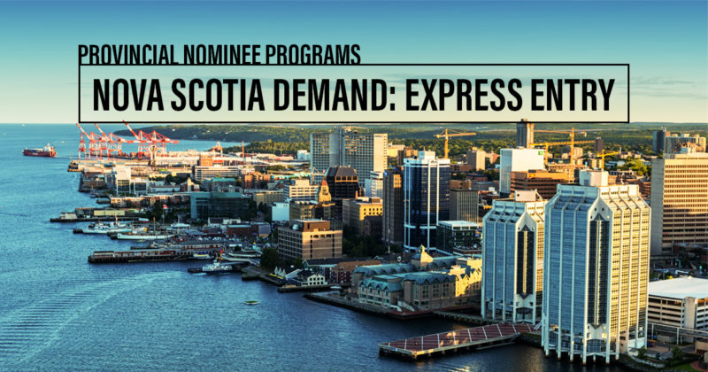 Nova Scotia Provincial Nominee Program PNP Processing Time From India