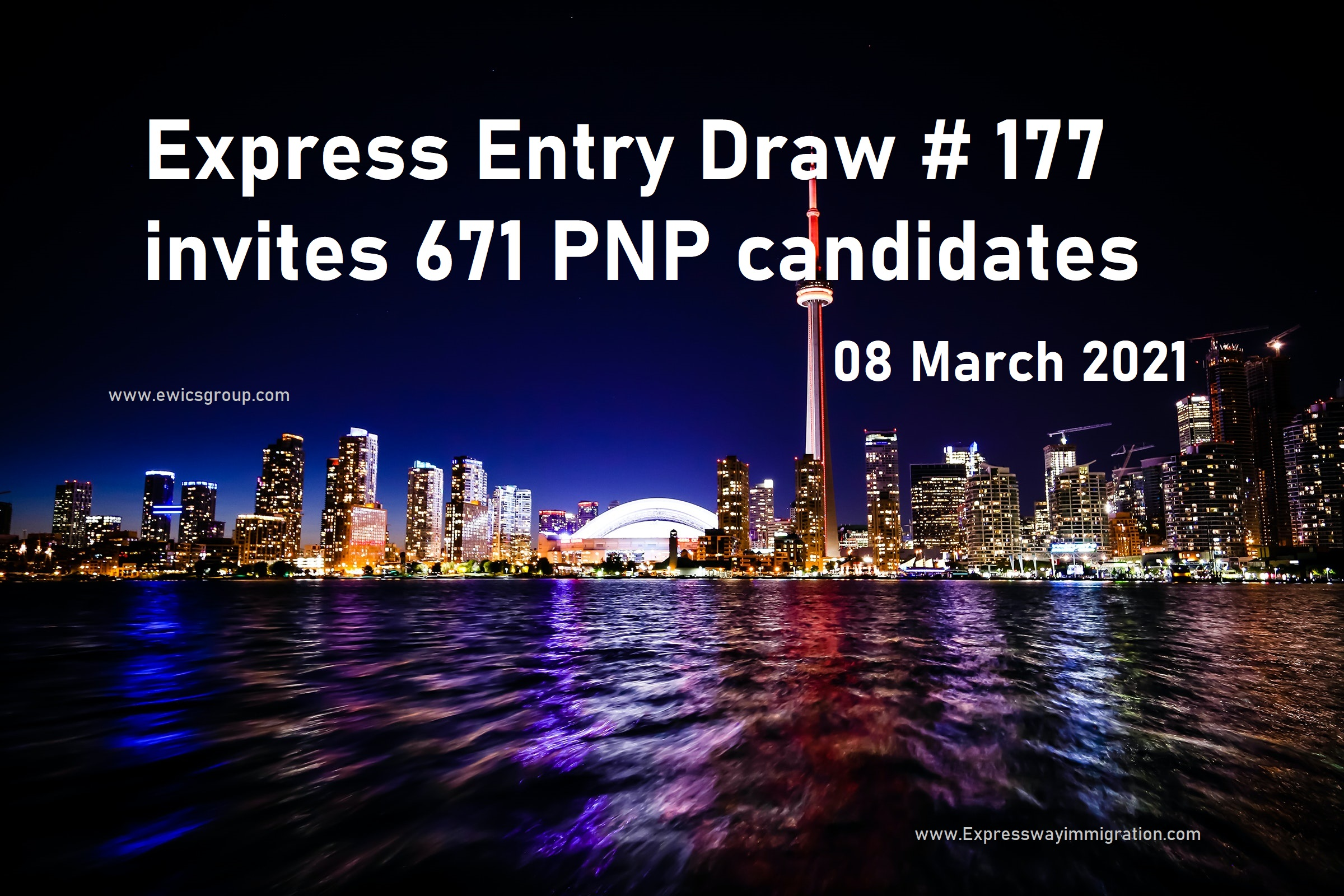 Express Entry Draw #177, Express Entry Draw March 2021, Latest Canada Immigration Draw